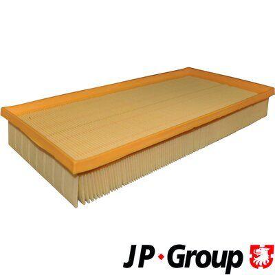 JP GROUP  1118602600 Luftfilter Länge: 364mm, Breite: 185mm, Höhe: 50mm, Länge: 364mm