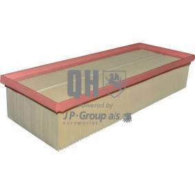 Luftfilter Länge: 345mm, Breite: 136mm, Höhe: 70mm mit OEM-Nummer 3C0129620B
