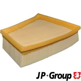 Air Filter Length: 213mm, Width: 220mm, Height: 58mm, Length: 213mm with OEM Number 5JF129620
