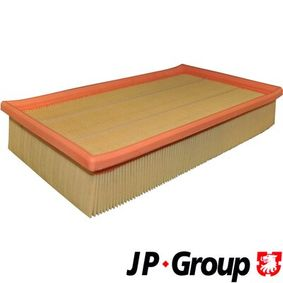 JP GROUP Luftfilter 1118604700 für AUDI 80 (8C, B4) 2.8 quattro ab Baujahr 09.1991, 174 PS