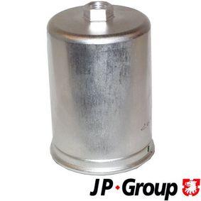 JP GROUP Kraftstofffilter 1118701200 für AUDI 80 Avant (8C, B4) 2.0 E 16V ab Baujahr 02.1993, 140 PS