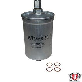 JP GROUP Kraftstofffilter 1118701300 für AUDI 80 (81, 85, B2) 1.8 GTE quattro (85Q) ab Baujahr 03.1985, 110 PS