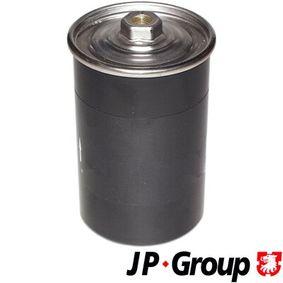 JP GROUP Kraftstofffilter 1118701400 für AUDI 90 (89, 89Q, 8A, B3) 2.2 E quattro ab Baujahr 04.1987, 136 PS