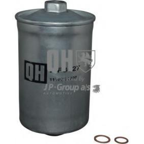 JP GROUP Kraftstofffilter 1118701409 für AUDI 90 (89, 89Q, 8A, B3) 2.2 E quattro ab Baujahr 04.1987, 136 PS