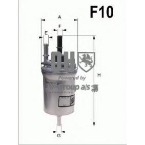 Kraftstofffilter Höhe: 164mm mit OEM-Nummer 6Q0 201 051