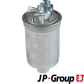 Zylinderkopfhaube für VW TRANSPORTER IV Bus (70XB, 70XC, 7DB, 7DW) 2.5 TDI 102 PS ab Baujahr 09.1995 JP GROUP Kraftstofffilter (1118702700) für