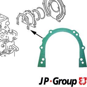 JP GROUP Dichtung, Gehäusedeckel (Kurbelgehäuse) 1119100100 für AUDI 80 Avant (8C, B4) 2.0 E 16V ab Baujahr 02.1993, 140 PS