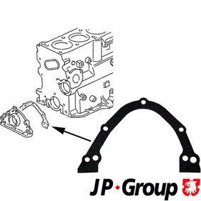JP GROUP Dichtung, Gehäusedeckel (Kurbelgehäuse) 1119100300 für AUDI 80 Avant (8C, B4) 2.0 E 16V ab Baujahr 02.1993, 140 PS