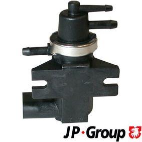 Ladedruckregelventil VW PASSAT Variant (3B6) 1.9 TDI 130 PS ab 11.2000 JP GROUP Druckwandler (1119900502) für