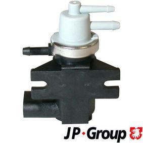 Ladedruckregelventil VW PASSAT Variant (3B6) 1.9 TDI 130 PS ab 11.2000 JP GROUP Druckwandler (1119900602) für