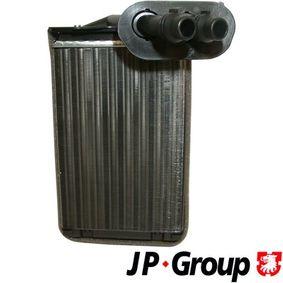 JP GROUP  1126300100 Wärmetauscher, Innenraumheizung