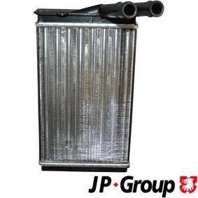 Wärmetauscher VW PASSAT Variant (3B6) 1.9 TDI 130 PS ab 11.2000 JP GROUP Wärmetauscher, Innenraumheizung (1126301000) für