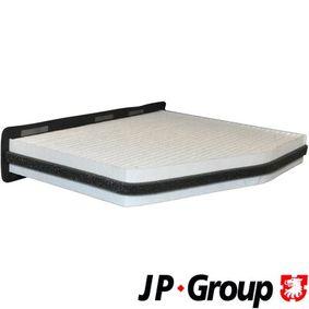 Filter, Innenraumluft Länge: 147mm, Breite: 288mm, Höhe: 34mm mit OEM-Nummer 1K0-819-644