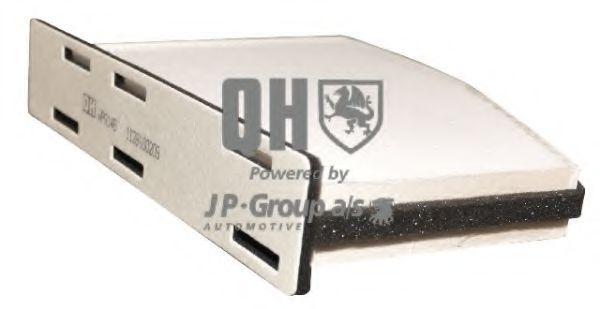 JP GROUP  1128100209 Filter, Innenraumluft Länge: 147mm, Breite: 288mm, Höhe: 34mm