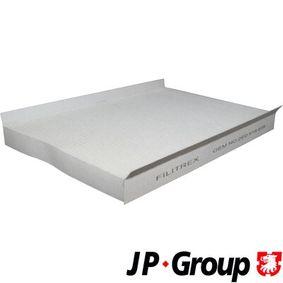 Filter, Innenraumluft Länge: 357mm, Breite: 238mm, Höhe: 35mm mit OEM-Nummer A906 830 03 18
