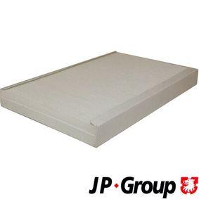 Filter, Innenraumluft Länge: 310mm, Breite: 193mm, Höhe: 31mm mit OEM-Nummer 8E0819439C
