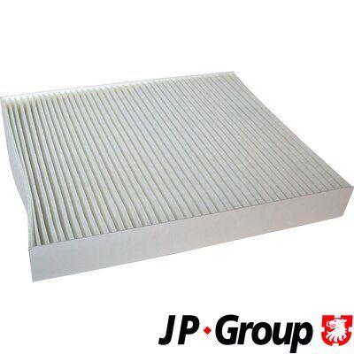 JP GROUP  1128100900 Filter, Innenraumluft Länge: 252mm, Breite: 216mm, Höhe: 32mm