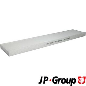 Filter, Innenraumluft Länge: 536mm, Breite: 110mm, Höhe: 26mm mit OEM-Nummer YM2119N551AB