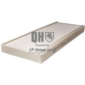 JP GROUP Filter, Innenraumluft 1128101409 für AUDI COUPE (89, 8B) 2.3 quattro ab Baujahr 05.1990, 134 PS