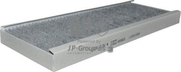 JP GROUP  1128101809 Filter, Innenraumluft Länge: 398mm, Breite: 148mm, Höhe: 27mm