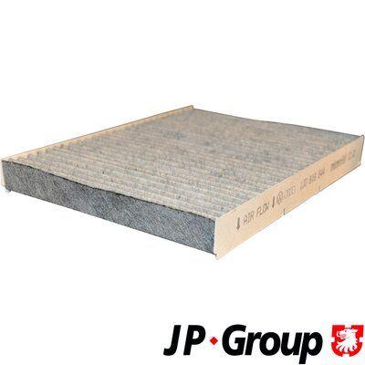 JP GROUP  1128101900 Filter, Innenraumluft Länge: 280mm, Breite: 206mm, Höhe: 30mm