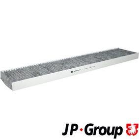 Filter, Innenraumluft Länge: 536mm, Breite: 111mm, Höhe: 30mm mit OEM-Nummer 1 113 627