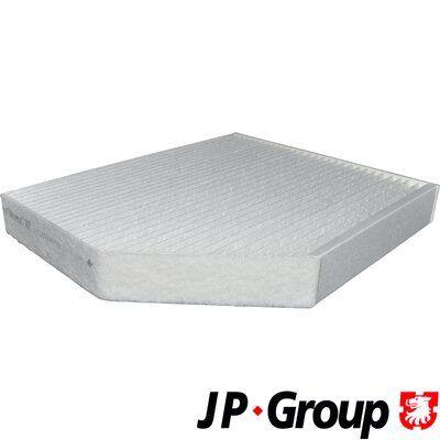 JP GROUP  1128104000 Filter, Innenraumluft Länge: 279mm, Breite: 241mm, Höhe: 36mm