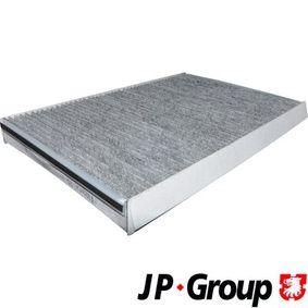 Filter, Innenraumluft Länge: 357mm, Breite: 238mm, Höhe: 35mm mit OEM-Nummer 68012876AA