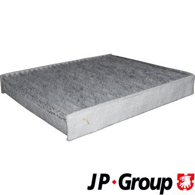 JP GROUP  1128104500 Filter, Innenraumluft Länge: 254mm, Breite: 224mm, Höhe: 36mm