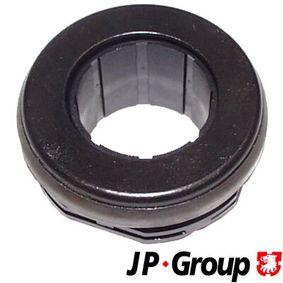 JP GROUP Ausrücklager 1130300200 für AUDI 100 (44, 44Q, C3) 1.8 ab Baujahr 02.1986, 88 PS