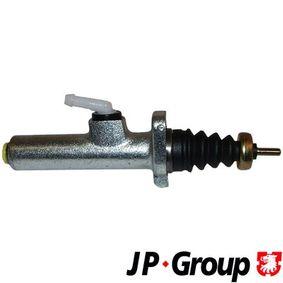 JP GROUP Geberzylinder, Kupplung 1130601900 für AUDI 80 Avant (8C, B4) 2.0 E 16V ab Baujahr 02.1993, 140 PS