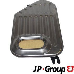 JP GROUP Hydraulikfilter, Automatikgetriebe 1131900500 für AUDI A4 Cabriolet (8H7, B6, 8HE, B7) 3.2 FSI ab Baujahr 01.2006, 255 PS