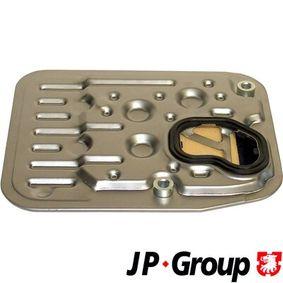JP GROUP Hydraulikfilter, Automatikgetriebe 1131900600 für AUDI 100 (44, 44Q, C3) 1.8 ab Baujahr 02.1986, 88 PS