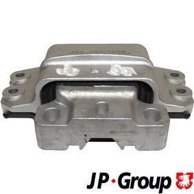 JP GROUP Lagerung, Schaltgetriebe 1132404470 für AUDI A3 (8P1) 1.9 TDI ab Baujahr 05.2003, 105 PS
