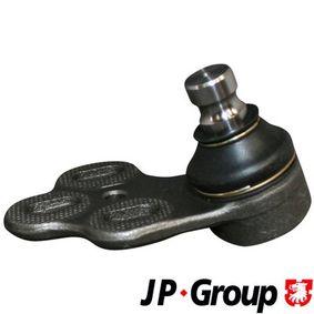 JP GROUP Trag-/Führungsgelenk 1140302280 für AUDI 80 Avant (8C, B4) 2.0 E 16V ab Baujahr 02.1993, 140 PS