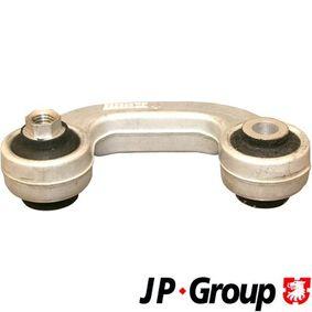 JP GROUP Stange/Strebe, Stabilisator 1140403070 für AUDI A4 Avant (8E5, B6) 3.0 quattro ab Baujahr 09.2001, 220 PS