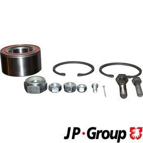 JP GROUP Radlagersatz 1141300910 für AUDI 80 (81, 85, B2) 1.8 GTE quattro (85Q) ab Baujahr 03.1985, 110 PS