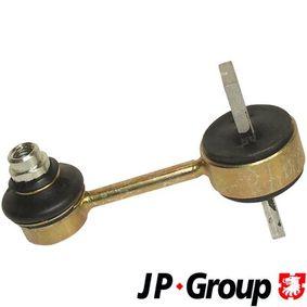 JP GROUP Stange/Strebe, Stabilisator 1150500400 für AUDI A4 Avant (8E5, B6) 3.0 quattro ab Baujahr 09.2001, 220 PS