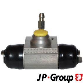 Radbremszylinder Bohrung-Ø: 19,05mm mit OEM-Nummer 6QE 611 053 A