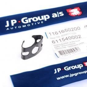 JP GROUP Halter, Bremsschlauch 1161650200 für AUDI COUPE (89, 8B) 2.3 quattro ab Baujahr 05.1990, 134 PS