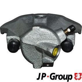 JP GROUP Bremssattel 1161901570 für AUDI A4 (8E2, B6) 1.9 TDI ab Baujahr 11.2000, 130 PS