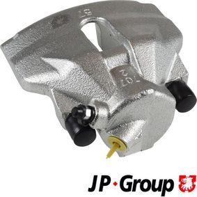 JP GROUP Bremssattel 1161901580 für AUDI A4 (8E2, B6) 1.9 TDI ab Baujahr 11.2000, 130 PS