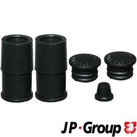 JP GROUP Führungshülsensatz, Bremssattel 1161950210 für AUDI A3 (8P1) 1.9 TDI ab Baujahr 05.2003, 105 PS