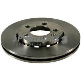 JP GROUP  1163101100 Bremsscheibe Bremsscheibendicke: 22mm, Ø: 256mm