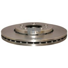 Bremsscheibe Bremsscheibendicke: 22mm, Ø: 256mm mit OEM-Nummer 5Z0 615 301B