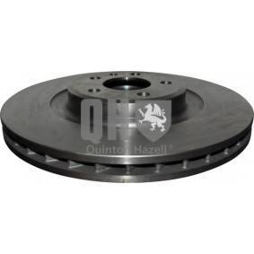 Brake Disc Brake Disc Thickness: 30mm, Ø: 345mm, Ø: 345mm with OEM Number 8K0 615 301Q