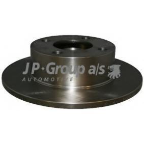 JP GROUP Bremsscheibe 1163200200 für AUDI 80 Avant (8C, B4) 2.0 E 16V ab Baujahr 02.1993, 140 PS