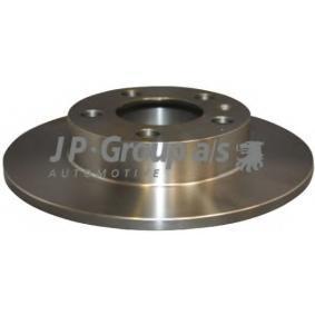 Motorhalter für VW GOLF IV (1J1) 1.6 100 PS ab Baujahr 08.1997 JP GROUP Bremsscheibe (1163200500) für
