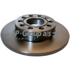 Turboladerdichtung für VW TOURAN (1T1, 1T2) 1.9 TDI 105 PS ab Baujahr 08.2003 JP GROUP Bremsscheibe (1163200800) für