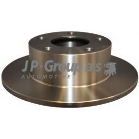 Bremsscheiben VW PASSAT Variant (3B6) 1.9 TDI 130 PS ab 11.2000 JP GROUP Bremsscheibe (1163201800) für